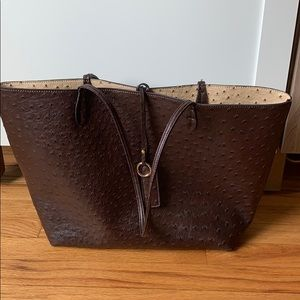 Francesca's Brown Tote Bag